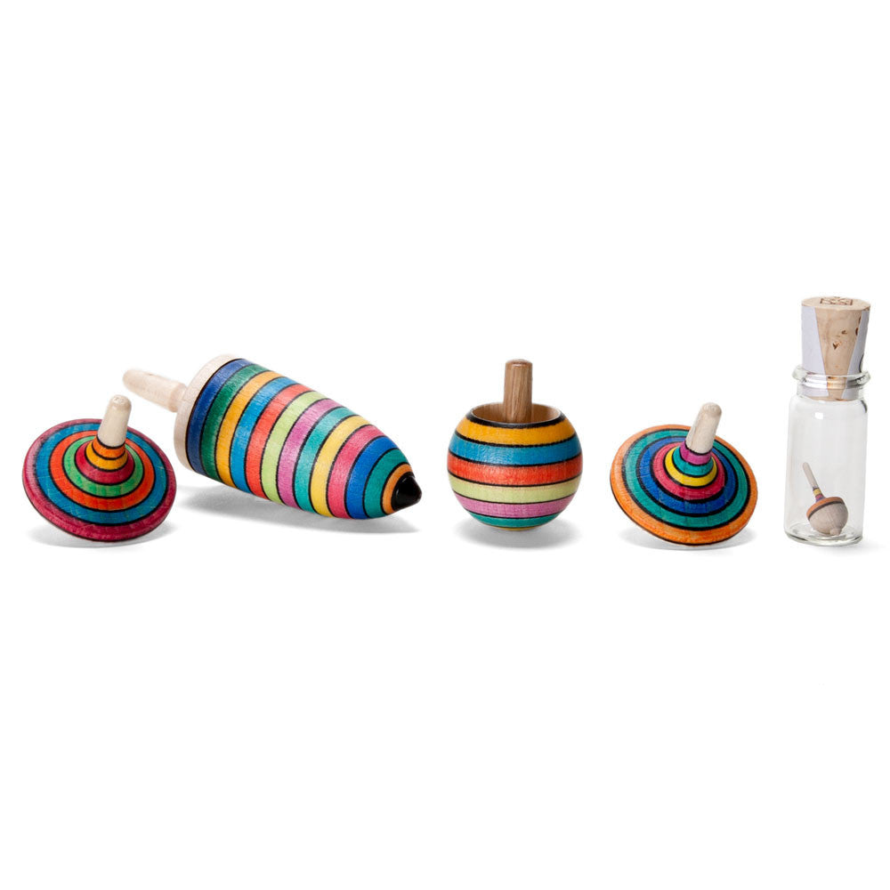 spinning top set - Nova Natural Toys & Crafts - 1