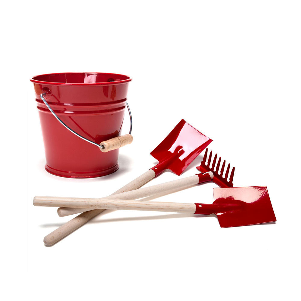 sand tools + pail - Nova Natural Toys & Crafts