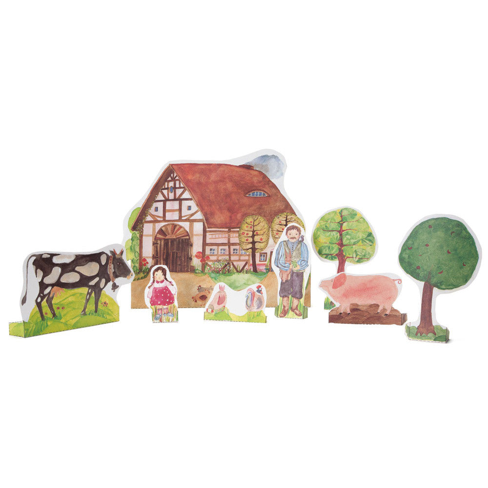 paper doll farmhouse - nova natural toys & crafts