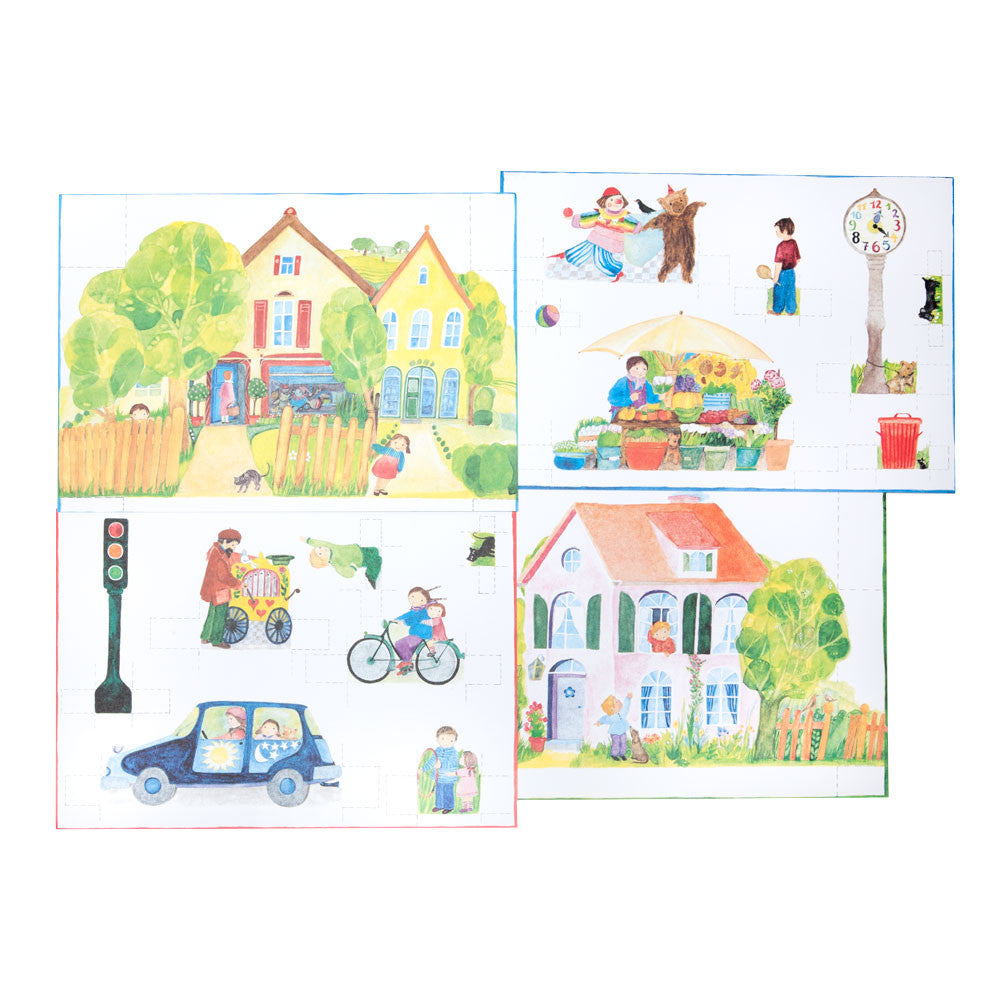 paper doll town - Nova Natural Toys & Crafts - 1