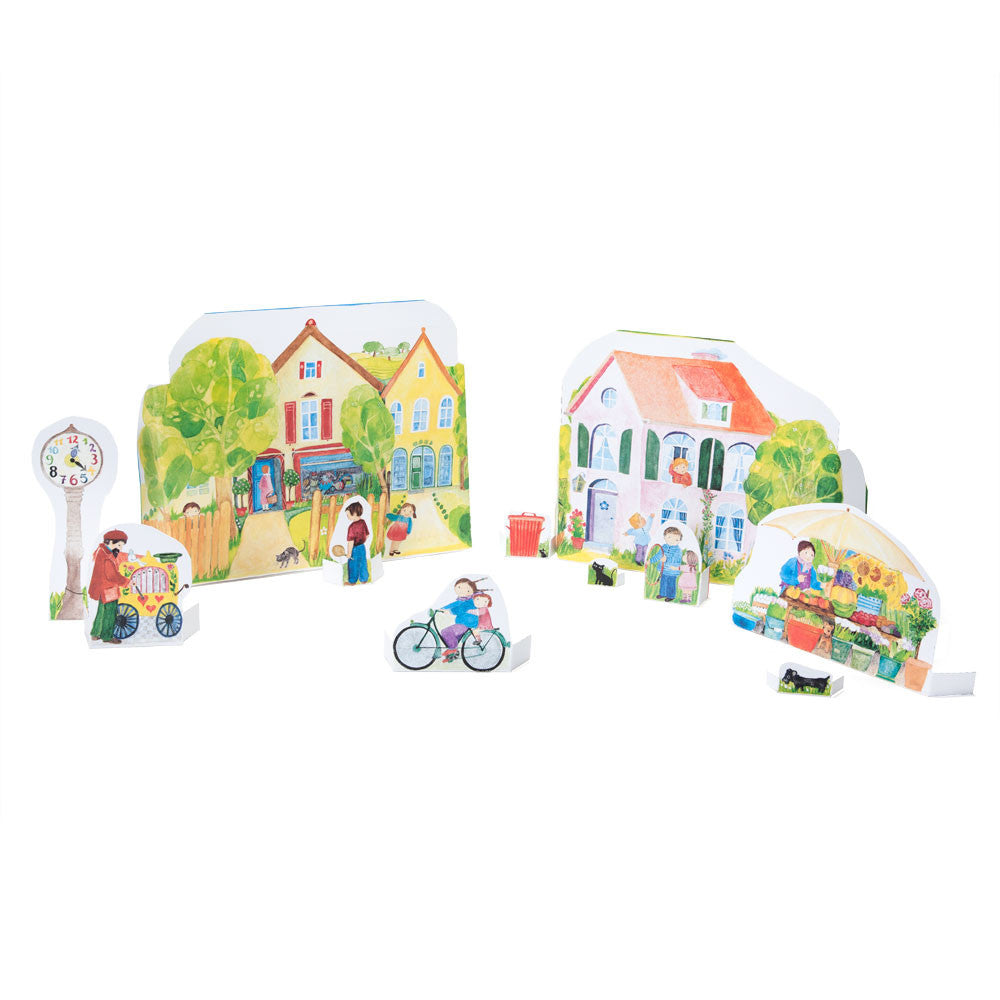 paper doll town - Nova Natural Toys & Crafts - 2