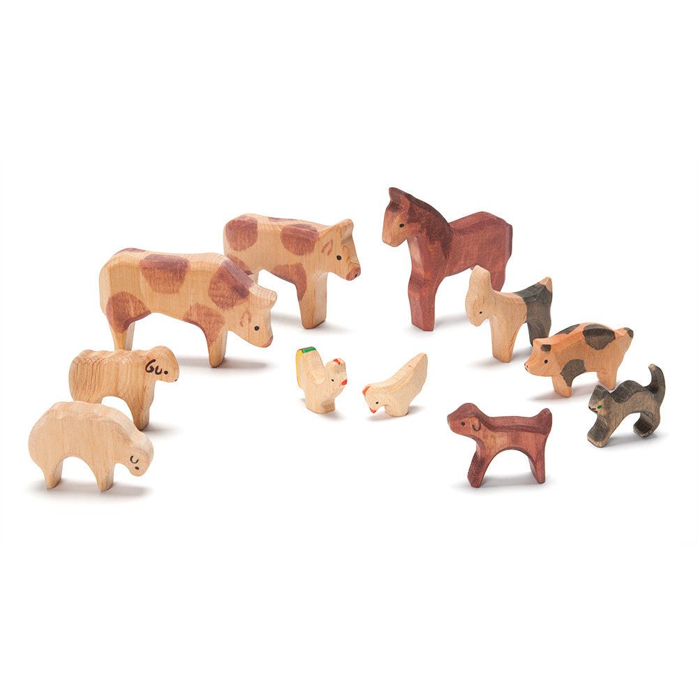 farmyard animal set - nova natural toys & crafts
