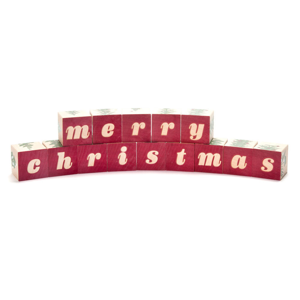 christmas blocks - Nova Natural Toys & Crafts - 3