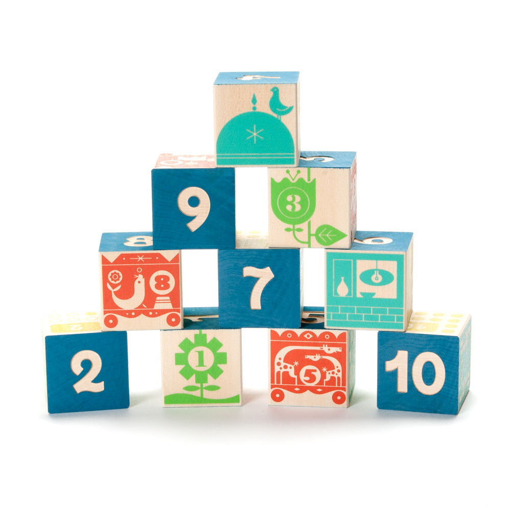count + stack number blocks - Nova Natural Toys & Crafts - 1