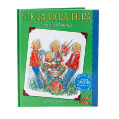 flicka, ricka, dicka go to market - hardcover edition - Nova Natural Toys & Crafts - 2