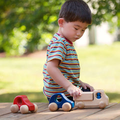 wooden delivery truck toy - Nova Natural Toys & Crafts - 3