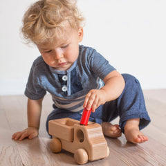 wooden delivery truck toy - Nova Natural Toys & Crafts - 2