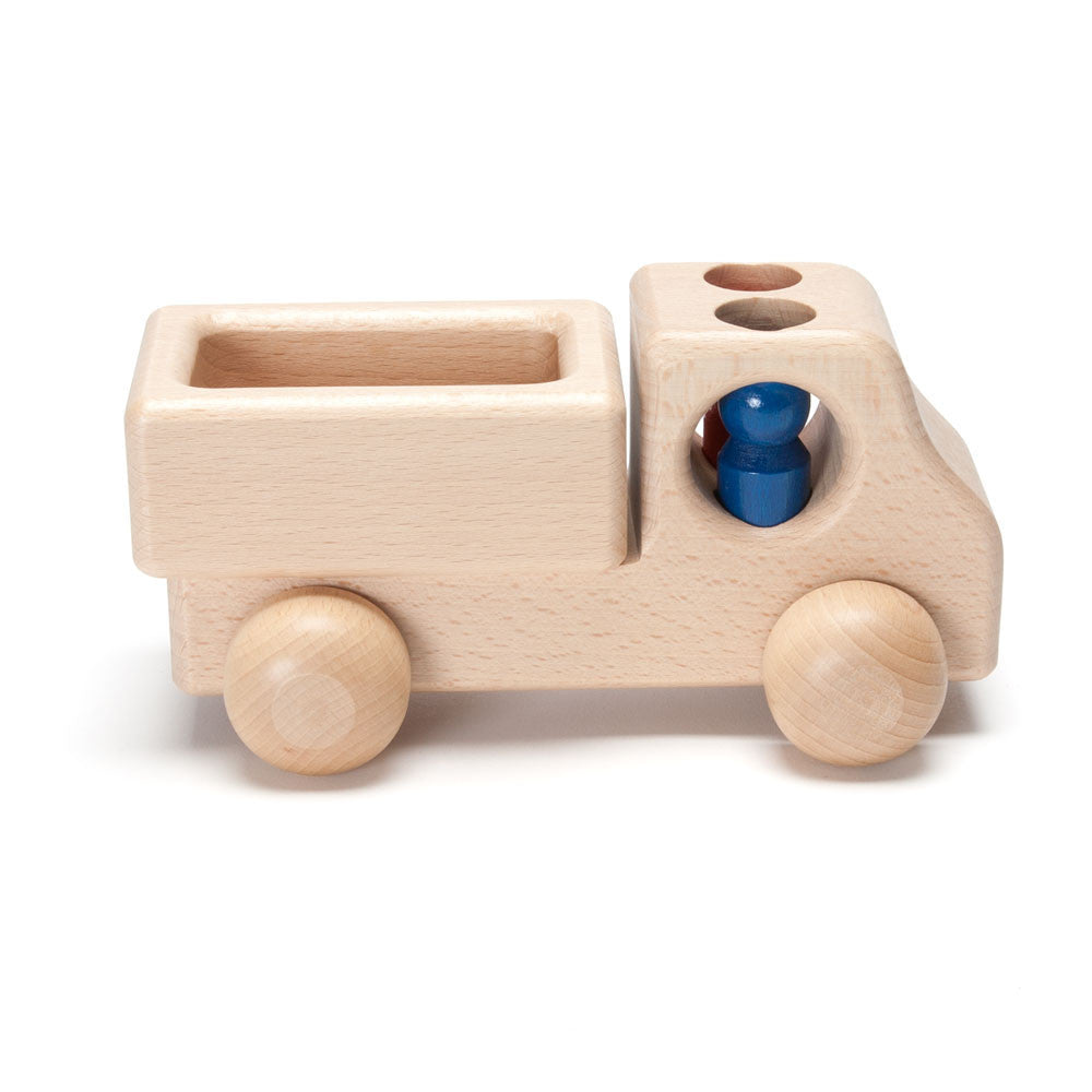 wooden delivery truck toy - Nova Natural Toys & Crafts - 1