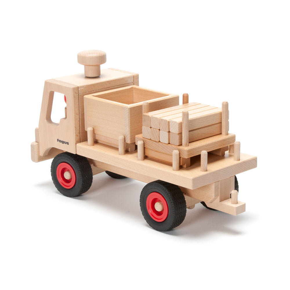 flatbed truck - Nova Natural Toys & Crafts - 1
