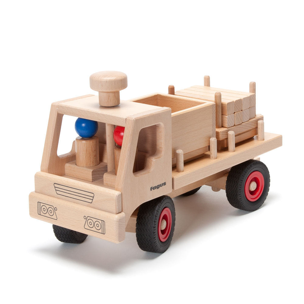 flatbed truck - Nova Natural Toys & Crafts - 3
