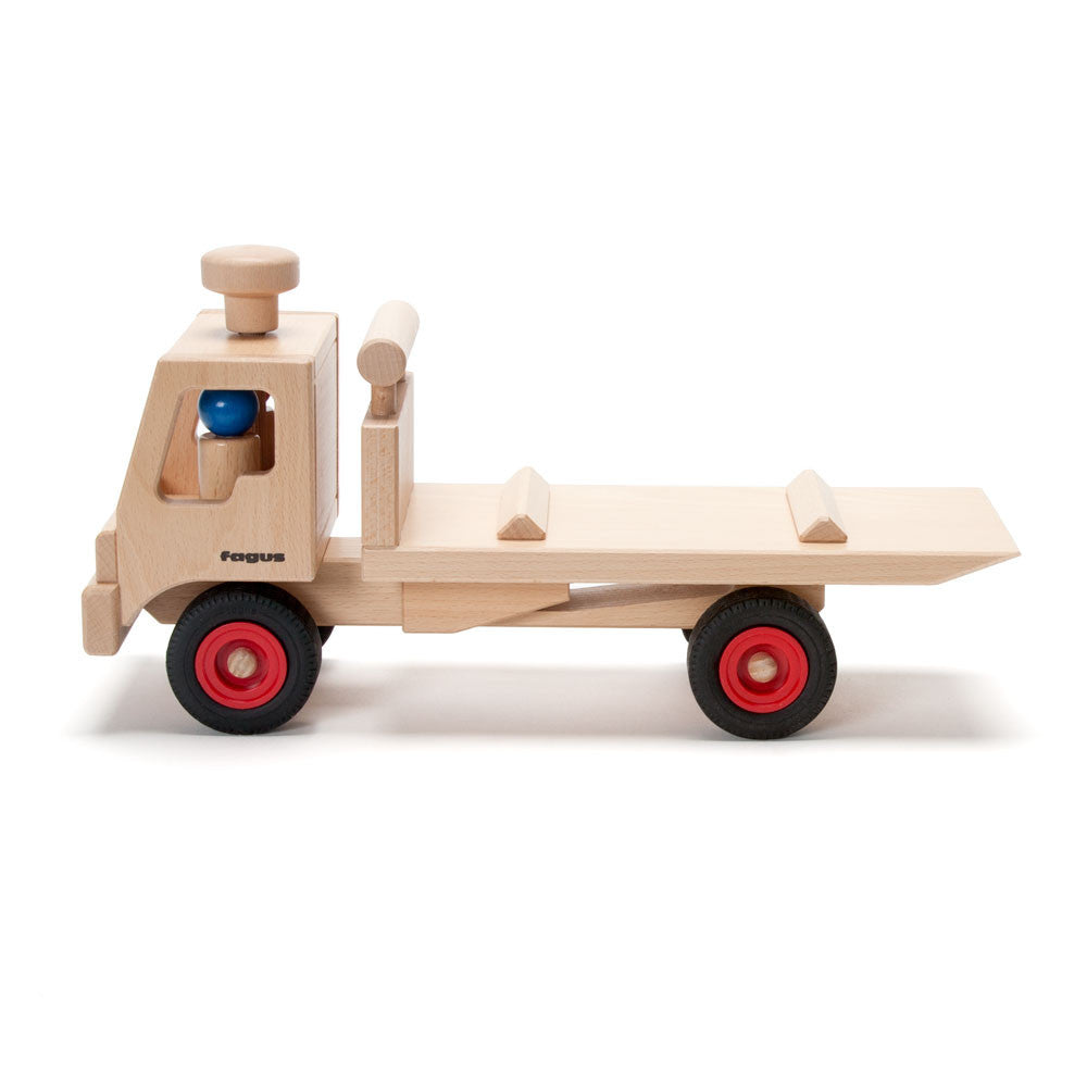 tow truck - Nova Natural Toys & Crafts - 1
