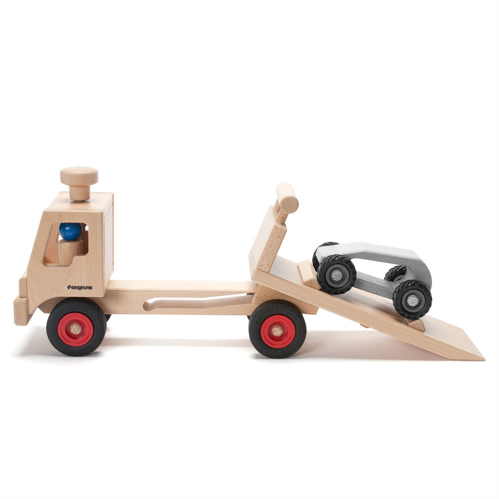 tow truck - Nova Natural Toys & Crafts - 4