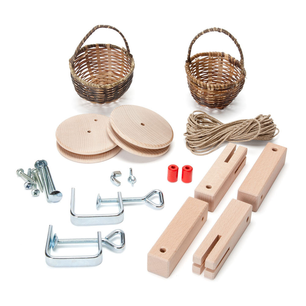 basket cable car kit nova natural toys crafts 2