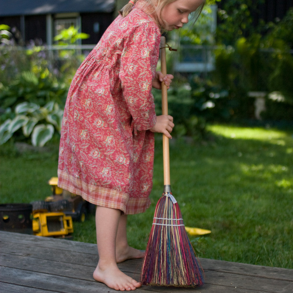 child's rainbow broom - Nova Natural Toys & Crafts - 3