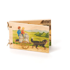 on the farm wooden book - Nova Natural Toys & Crafts - 1