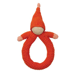 Organic Crocheted Rattle