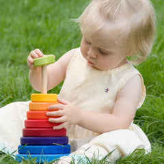 rainbow stacker - Nova Natural Toys & Crafts - 3