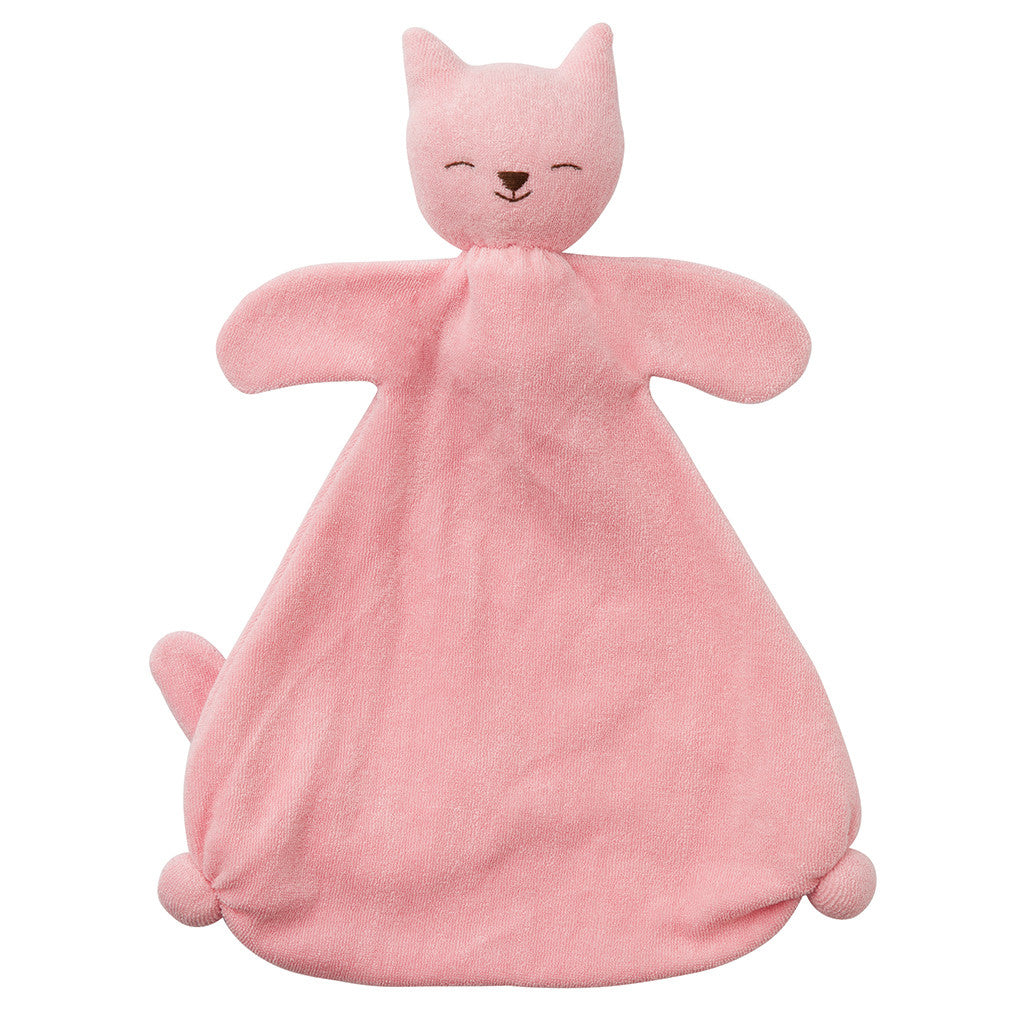 Soft Sweetie Blankie - Pink Cat - Nova Natural Toys & Crafts