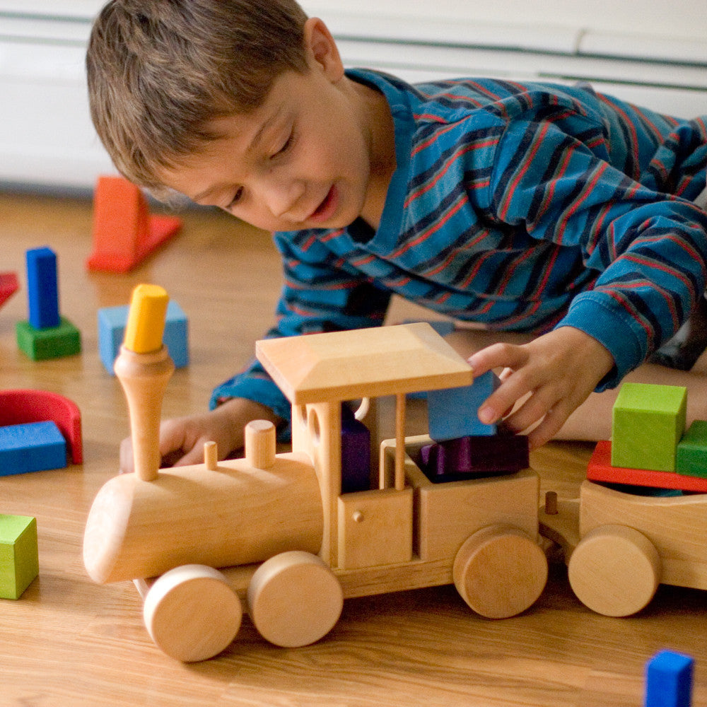 wooden train - Nova Natural Toys & Crafts - 3