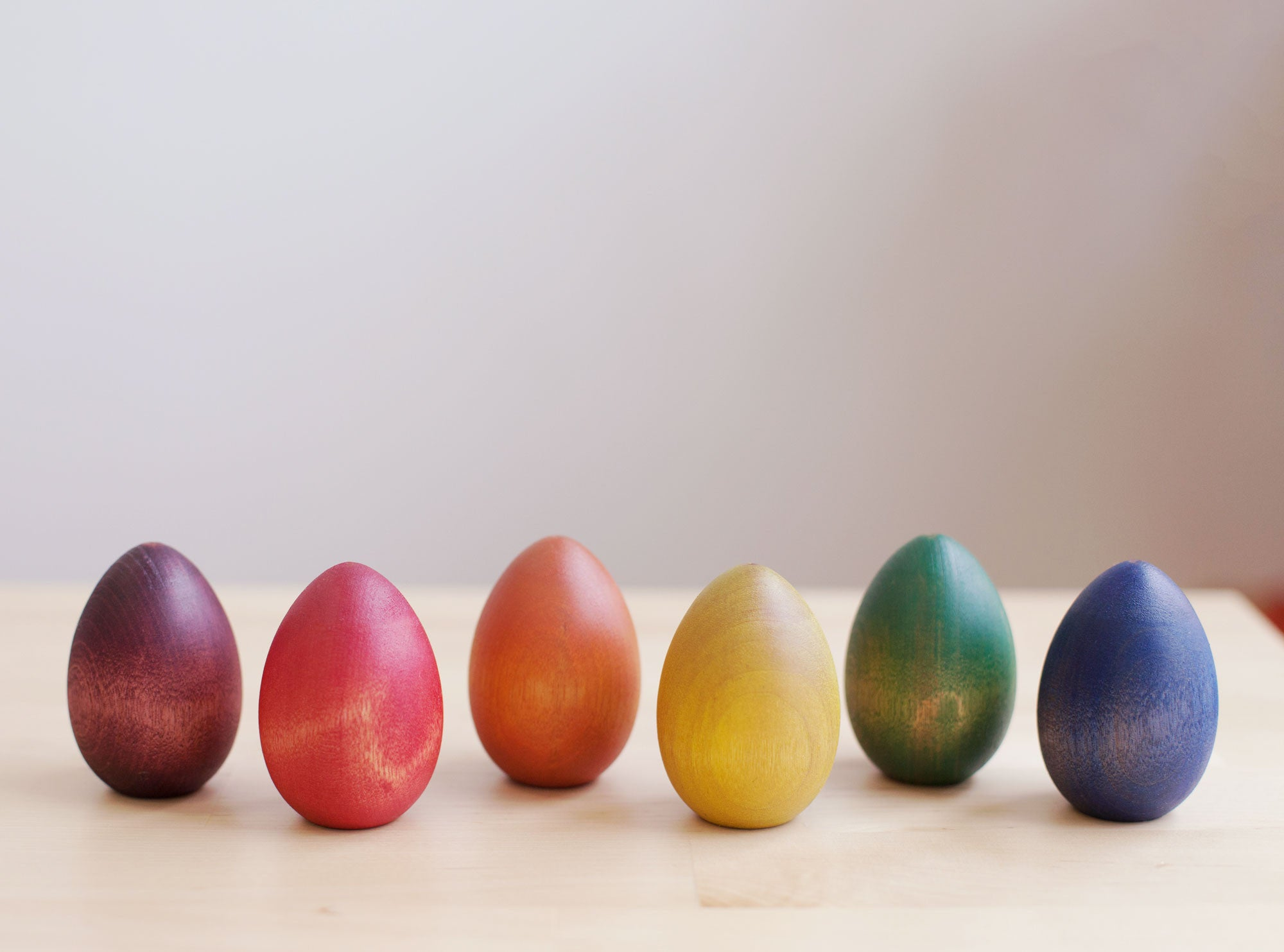 painted wooden eggs - nova natural toys & crafts