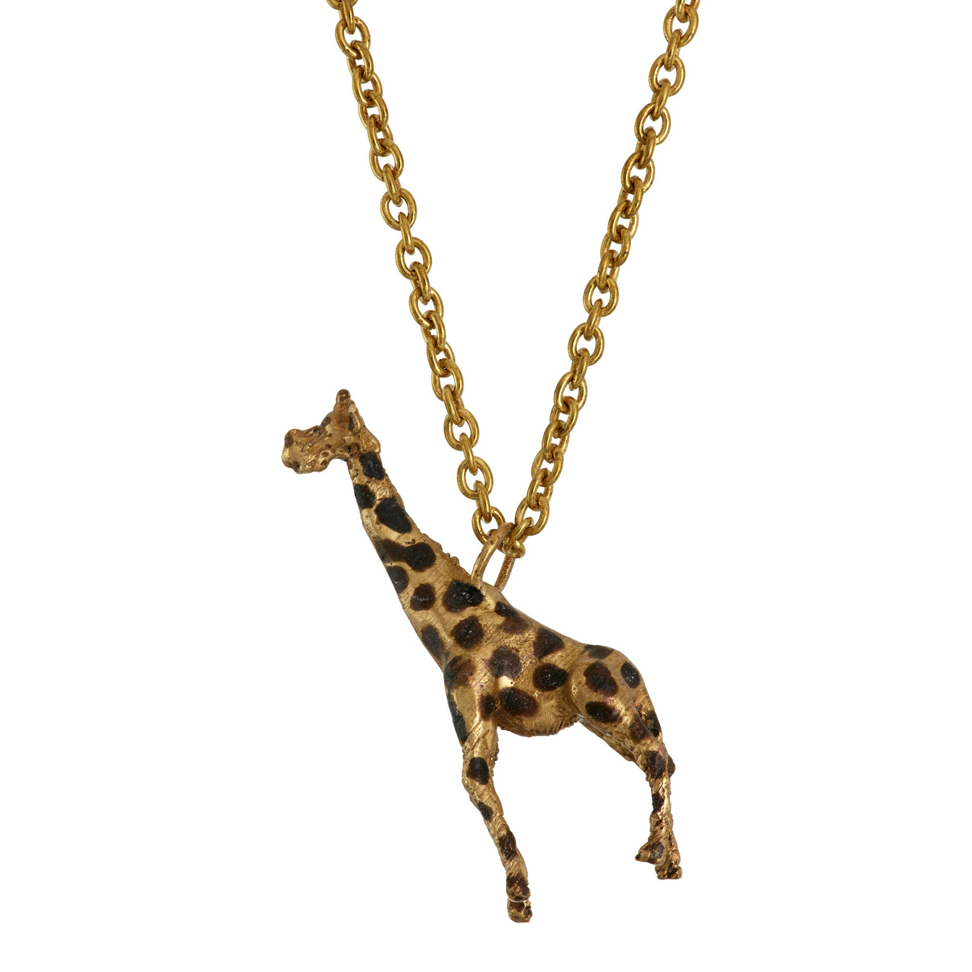 necklace gold white black giraffe of diamond cttw and s pendant picture p