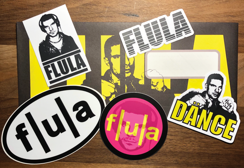 Flula Stickers Pack!