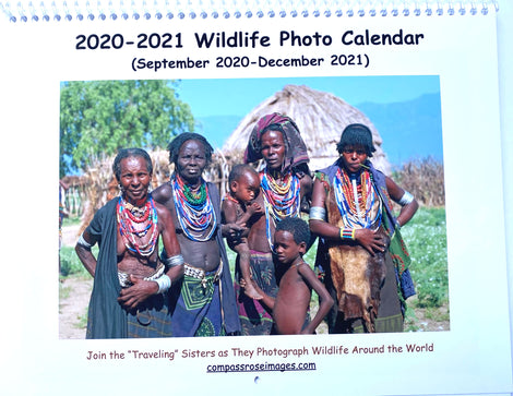 2019-2020 Wildlife Calendar (16 month)