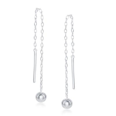E028119 - Sterling Silver Threader Earring