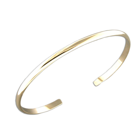 B064012* - Gold-Filled Thin Cuff Bracelet