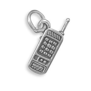 C005159* - Sterling Silver Cell Phone Charm