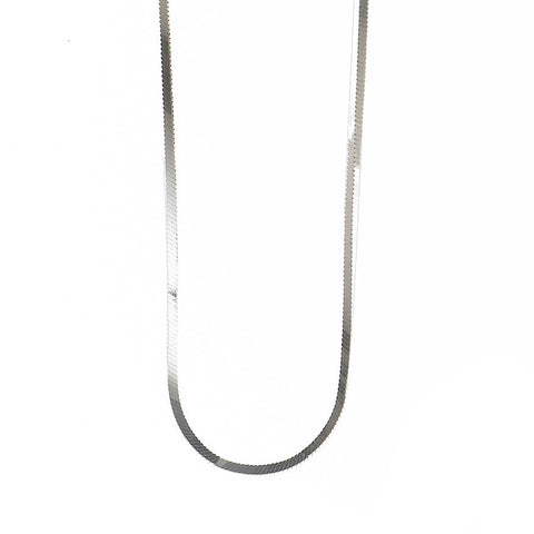 CN05035 - 1.3mm Sterling Silver Square Snake Chain