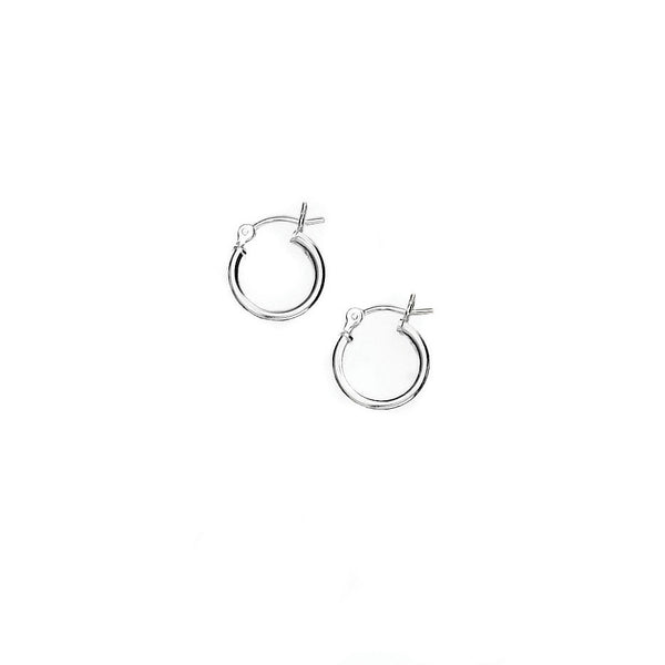 E005062 - Extra Small Sterling Silver Hoops