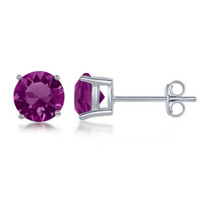 495d413c8 E028116-FEB - Sterling Silver and Amethyst