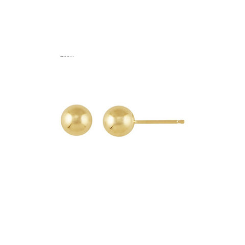 E036002 - 5mm 14k Gold-Filled Studs