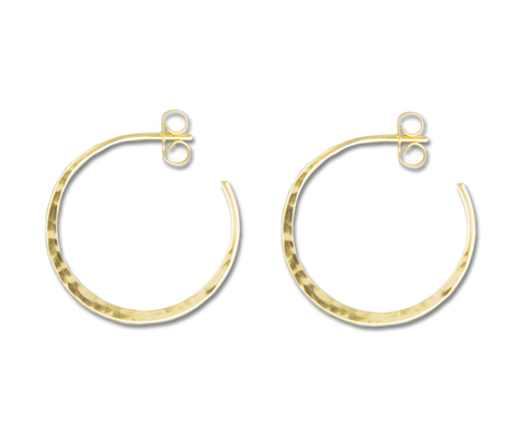 e7bd67944 E064011 - Extra Large Hammered Sterling Silver Hoop Earrings — $ 79 ·  E064003 - Hammered Gold-Filled Hoop Earring