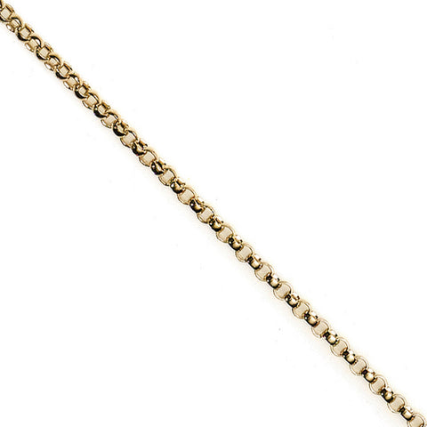 N005134* - 2.6mm Gold-Filled Rolo Chain