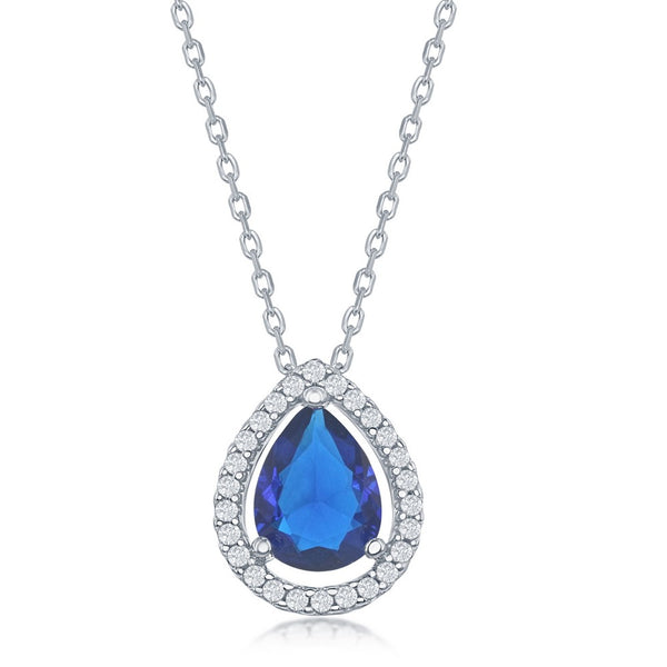 N028205 - Sterling Silver and Cubic Zirconia Necklace