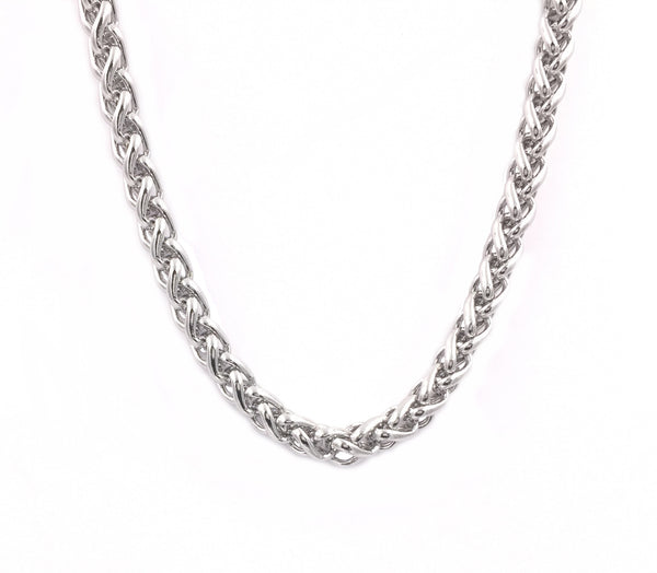 N047001 - Men's Stainless Steel Chain, 24""
