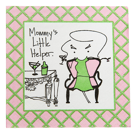 "NA077001 - ""Mommy's Little Helper"" Napkins"