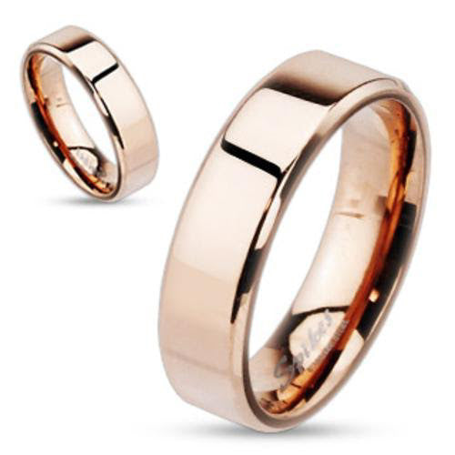 R047003 - 5mm Rose Gold Stainless Steel Band