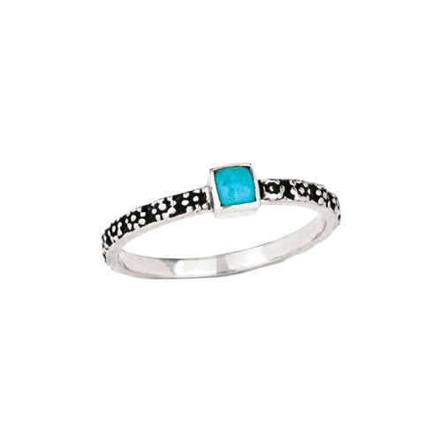 R054030 - Sterling Silver/Turquoise Ring