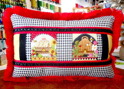 finished-canvas-bee-skep-pillow