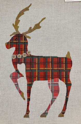 Plaid Reindeer