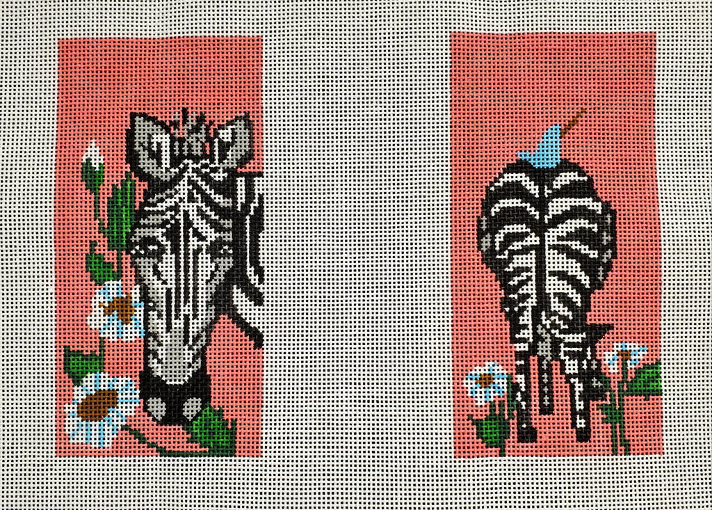 Double Black & White Zebra