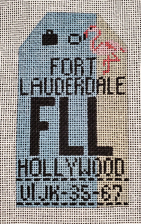 Fort Lauderdale Luggage Tag