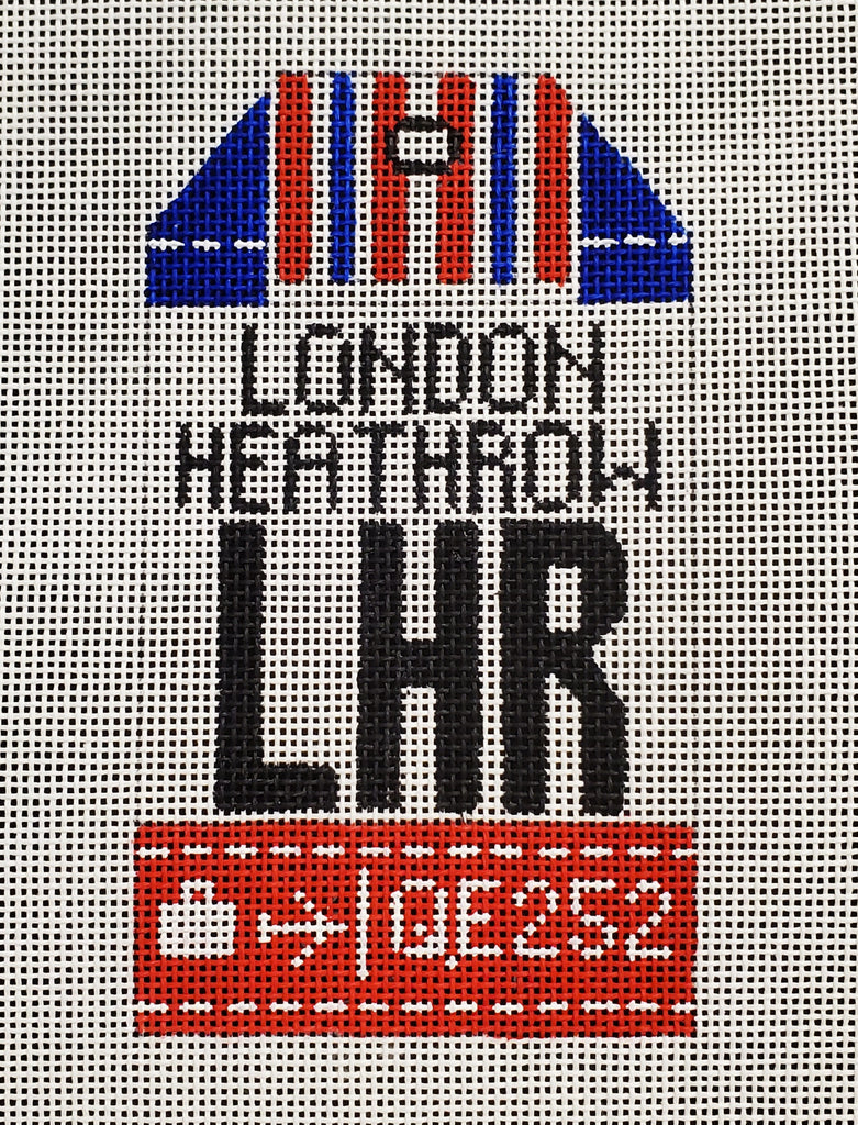 London Luggage Tag
