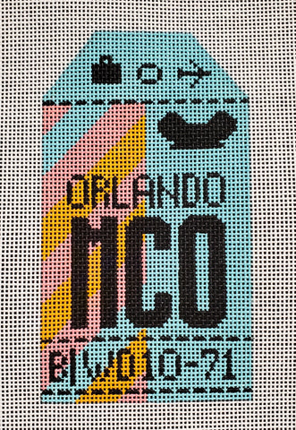 Orlando Luggage Tag