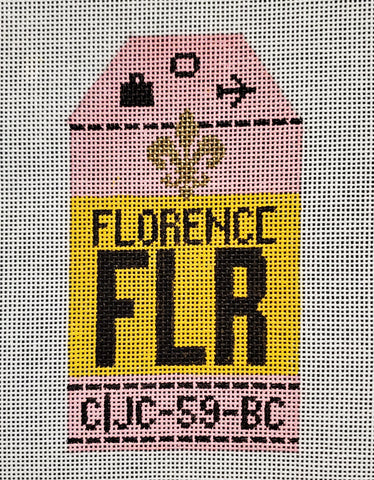 Florence Luggage Tag