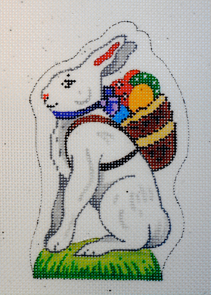 Easter Bunny with Backpack