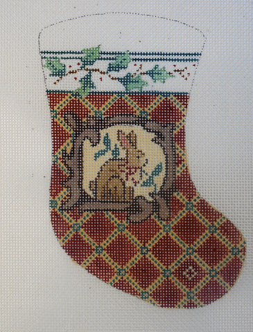 Rabbit Mini Stocking